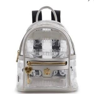 NWT Juicy Couture Clear Mini Backpack